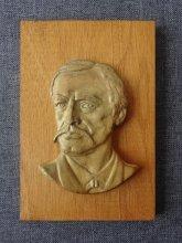 Георги Раковски - дървен плакет